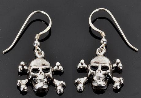Skull Crossbones Earrings 20 00